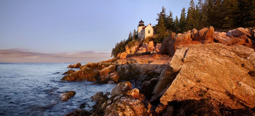 Maine rock climbing