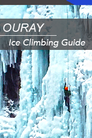 ouray ice climbing  guidebook