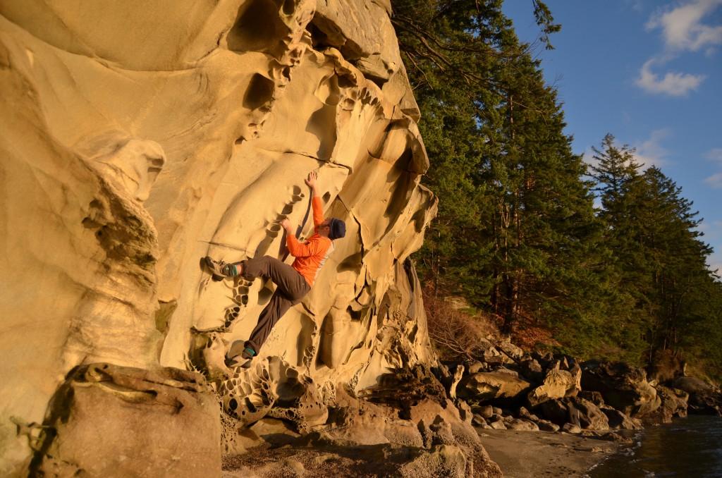 Bellingham bouldering guidebook