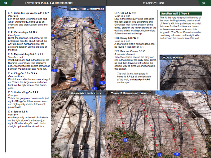 Gunks Guidebook