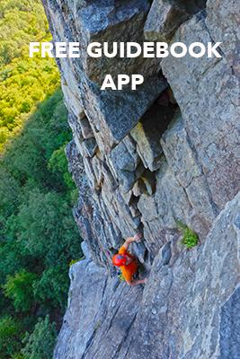 Free climbing guidebook app