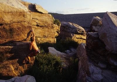 FE Walter Bouldering Area